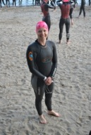 Blue Wave Aquatics swimmer swims in the Ironman Canada